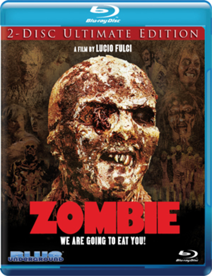 [UPDATE: Pre-order Link/Restoration Video] We Are Going To Eat You, In High Definition! ZOMBIE Comes To 2 Disc Blu-ray October 25th