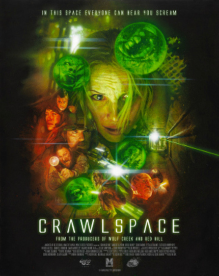 Sitges 2012: Sci Fi Thriller CRAWLSPACE Gets A Crazy-Ass Poster And Trailer