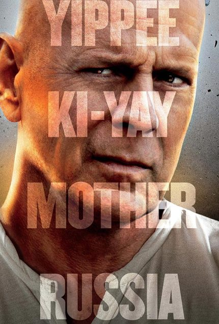 They're Not A Hugging Family. Full A GOOD DAY TO DIE HARD Trailer Explodes On The Screen