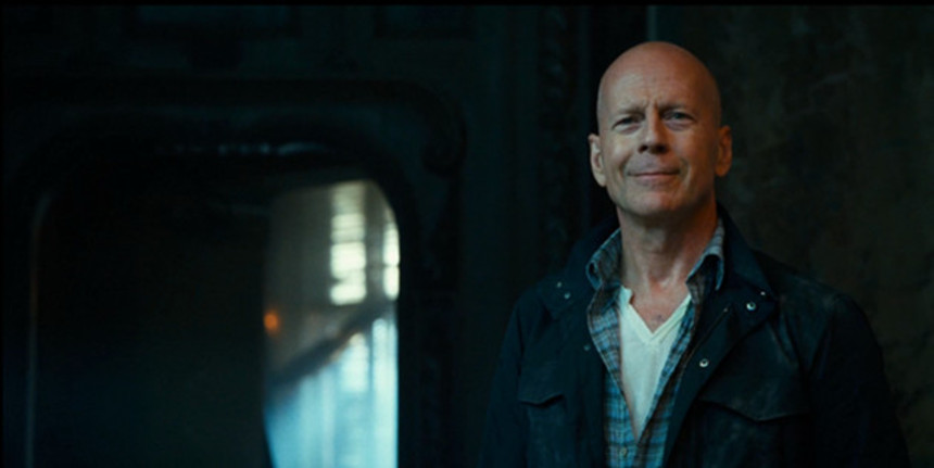Is It Really A GOOD DAY TO DIE HARD? Bruce's Smile Says Yes.
