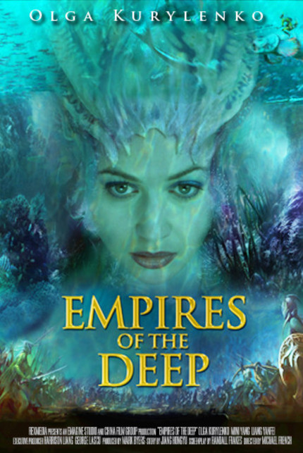 Three Years And A Hundred And Thirty Million Dollars Later, All We Get Is Olga Kurylenko With A Shell On Her Head. First Trailer For Fantasy Fiasco EMPIRES OF THE DEEP.