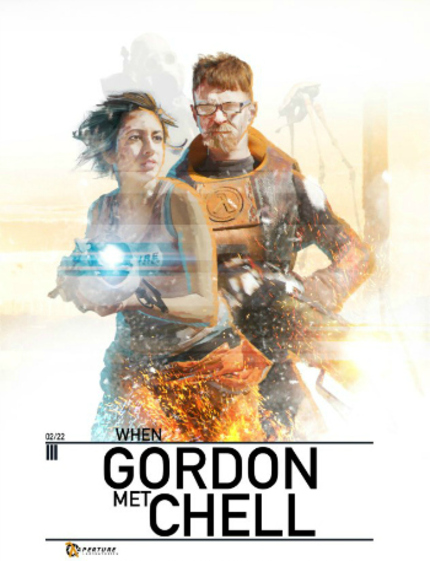 WHEN GORDON MET CHELL, An Epic Half Life-Portal Mash Up From The Guy Behind DOOMSDAY ARCADE