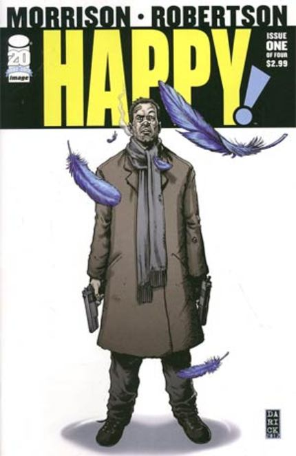 RZA Tackling Grant Morrison's HAPPY: A Tale Of Hitmen, Santa Suited Pedophiles, And A Little Blue Horse