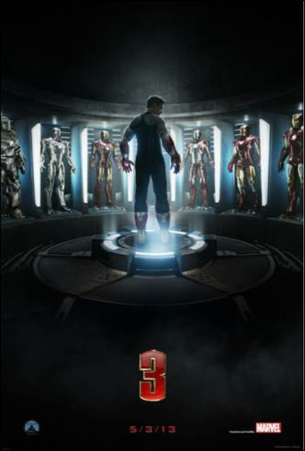 IRON MAN 3 Trailer Teased! Plus, The First Poster!
