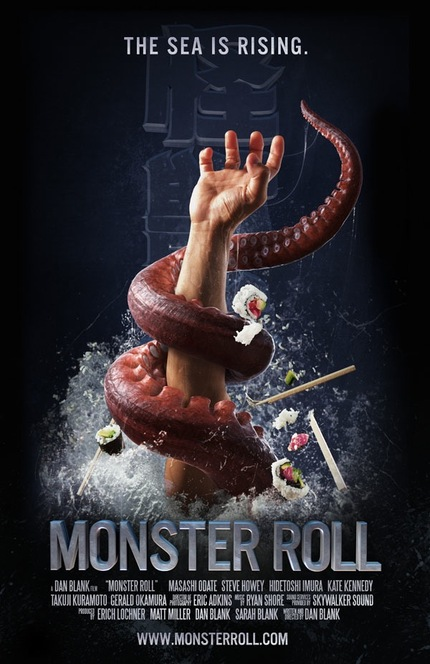 Sushi Chefs Versus Sea Monster In Hysterical Short MONSTER ROLL