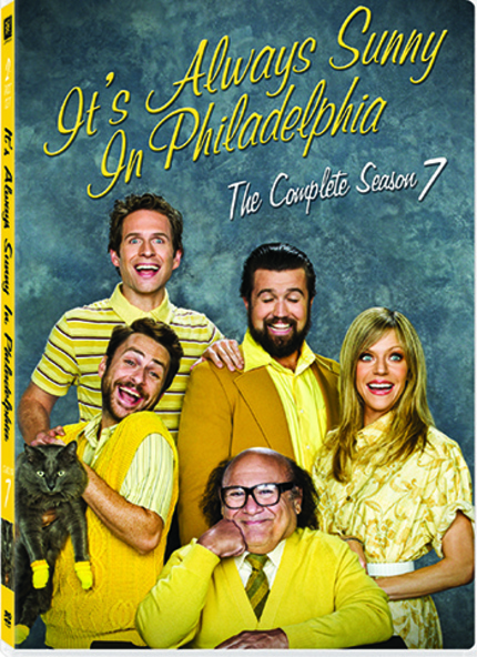 Win a Copy of IT'S ALWAYS SUNNY IN PHILADELPIA SEASON 7 on DVD