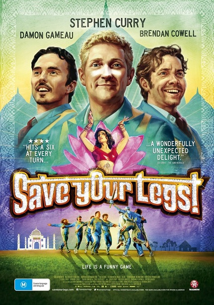 Poster Art For Aussie-Indian Production SAVE YOUR LEGS Celebrates Both Cultures