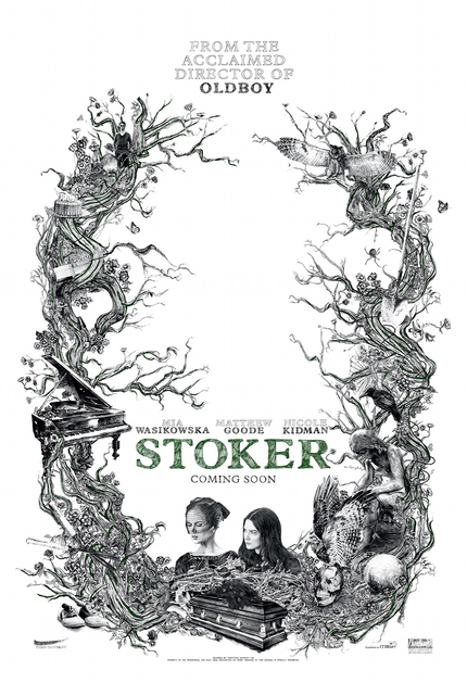 Gorgeous First Poster For Park Chan-wook's STOKER