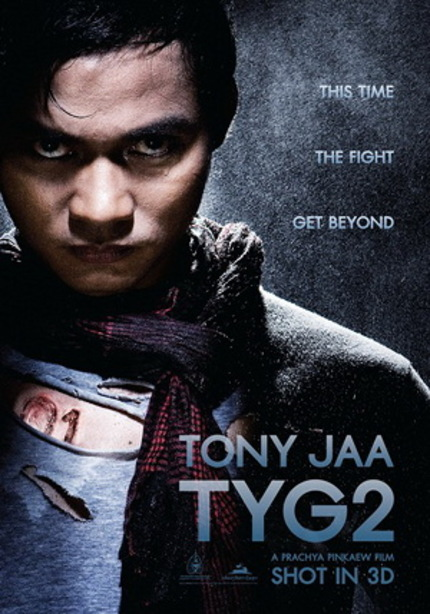 New Poster Art, Cast Details And Release Date For Tony Jaa's TOM YUM GOONG 2