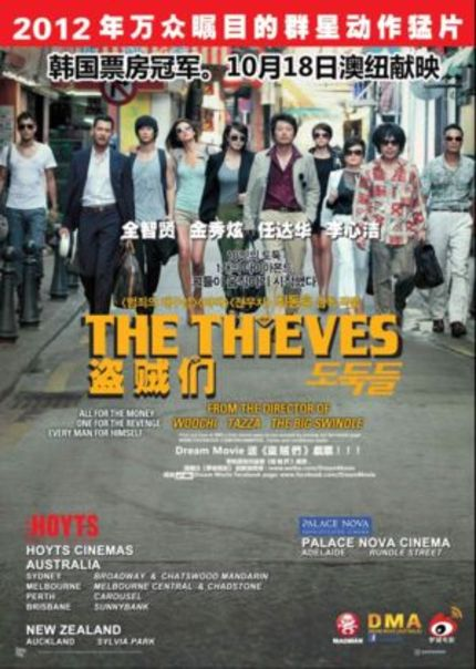 Hey, Australia! Win Tickets To See South Korea's THE THIEVES in Cinema