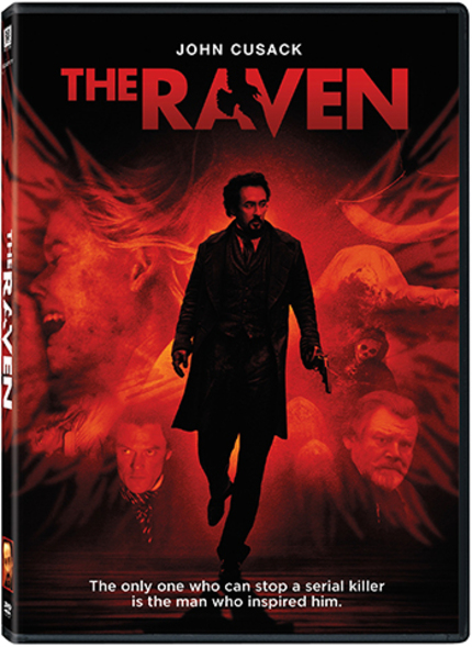 Win One Of a Pair of THE RAVEN DVD Prize Packs