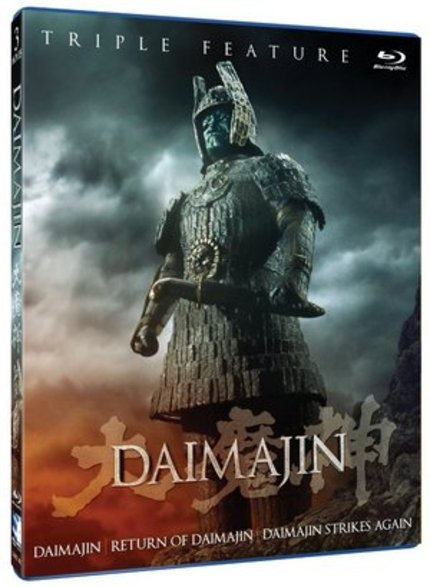 Blu-ray Review: DAIMAJIN Triple Feature Collector's Edition (Mill Creek)