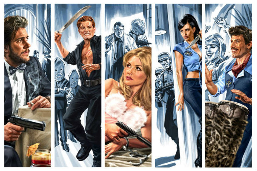 Fantastic Fest 2012 Review: DANGER 5 is YACHT ROCK-level Hilarious, but with Nazis!