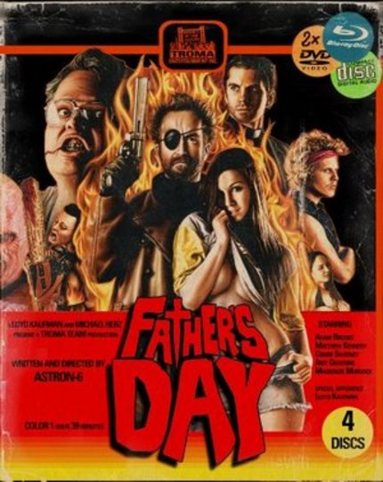 Blu-ray Review: FATHER'S DAY, Great Film Or The Greatest Film?