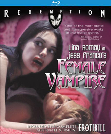 Jess Franco On Blu-ray: FEMALE VAMPIRE / EROTIKILL
