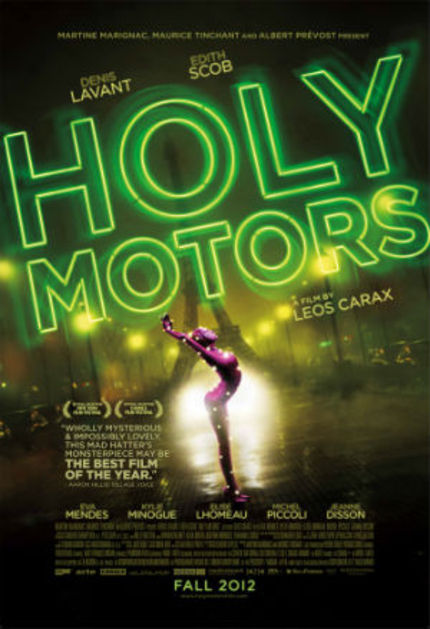 Opening: HOLY MOTORS Rattles Cages and Delights the Senses