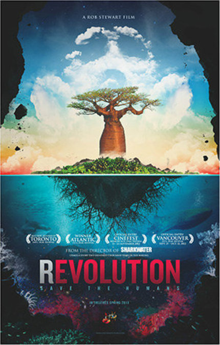 VIFF 2012 Interview: Rob Stewart on REVOLUTION and his Plan to Save Humans From Extinction