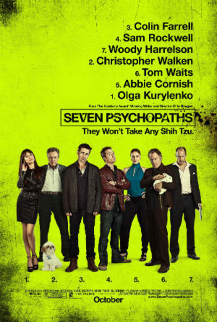 Review: SEVEN PSYCHOPATHS Is Less Than The Sum Of Its Parts