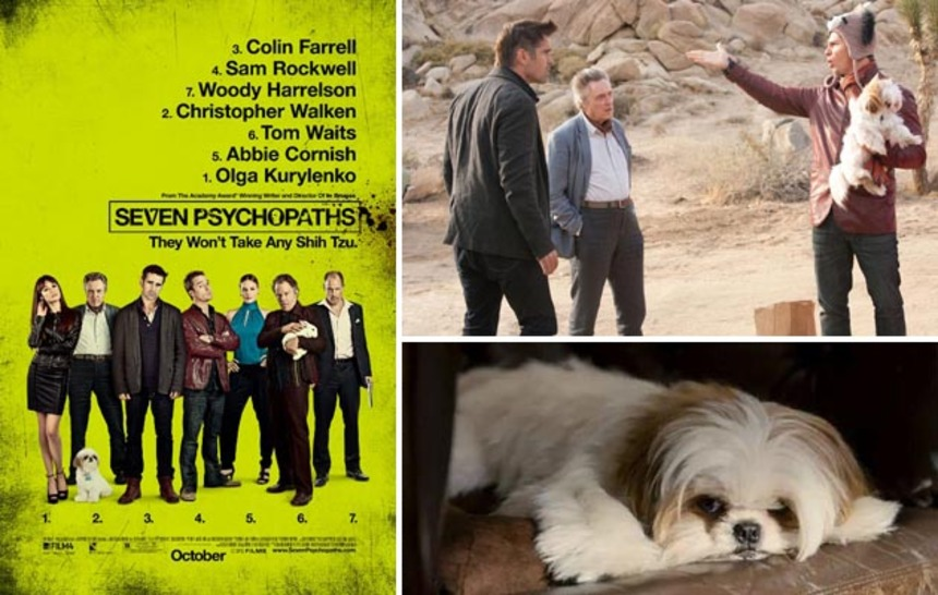 Boston, Minneapolis, St. Louis - Get Your Free Tix To See SEVEN PSYCHOPATHS + New Behind the Scenes Clip