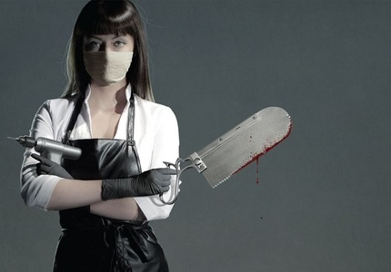 A Bloody Good Poster Makes Us Feel Patriotic For AMERICAN MARY... SYDNEY TAKE NOTE!