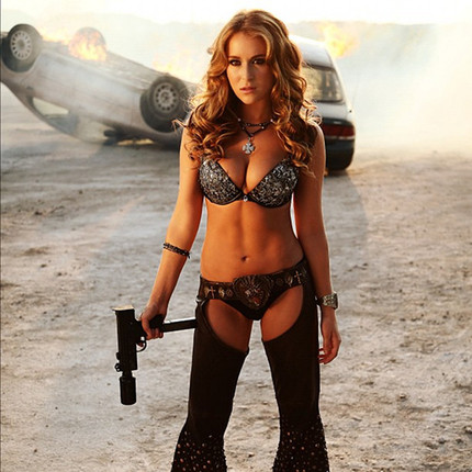 She's Not A Kid Any More. Alexa Vega Tweets Photo Of Her MACHETE KILLS Character.