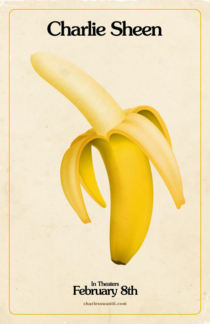 Charlie Sheen Has A Big Banana. First Posters For Coppola's A GLIMPSE INSIDE THE MIND OF CHARLES SWAN III