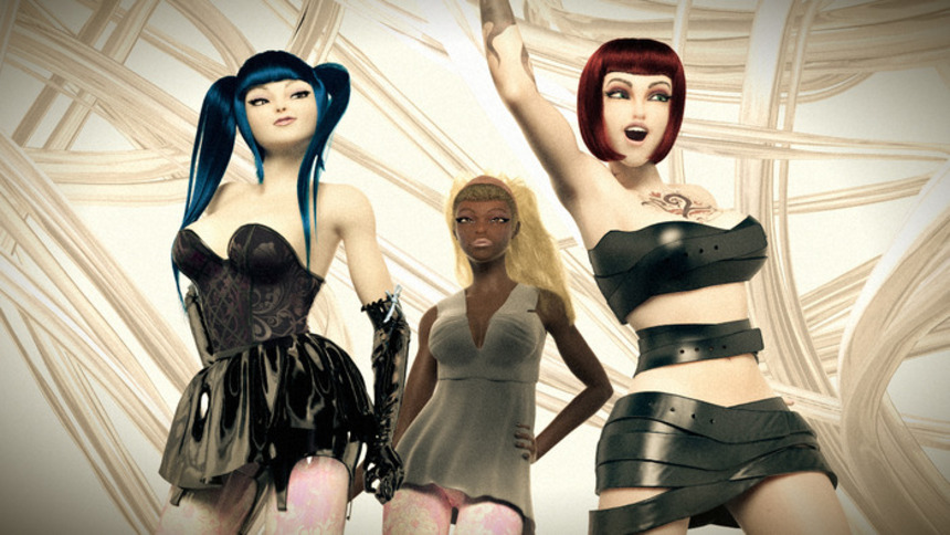 Kickstart This! Philippe Gamer Launch Sexy Virtual Rock Band G.I.R.L.S