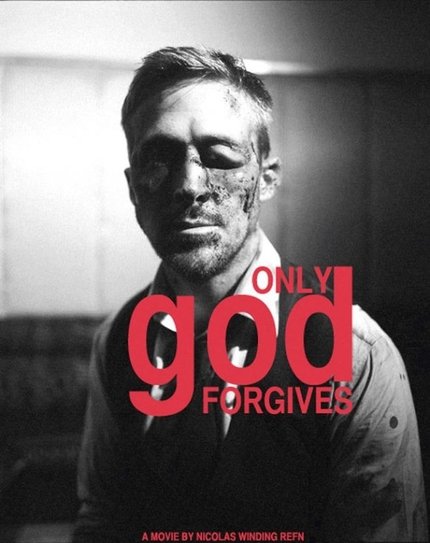 Nicolas Winding Refn Wrecks Ryan Gosling's Face For First ONLY GOD FORGIVES Poster