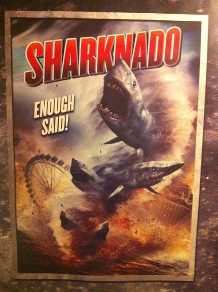 Oh, No! It's A SHARKNADO!