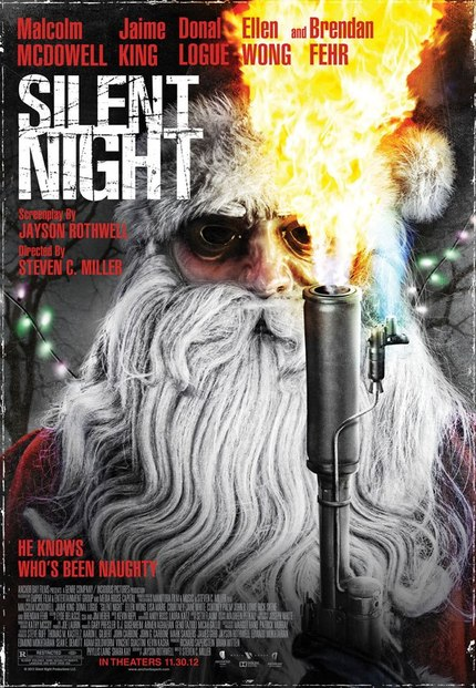 Santa Slays In SILENT NIGHT Trailer