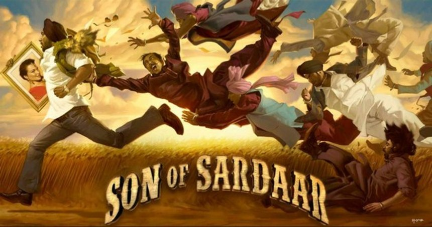New Trailer For SON OF SARDAAR Gives A Glimpse At A Bollywood Style Tex Avery Cartoon
