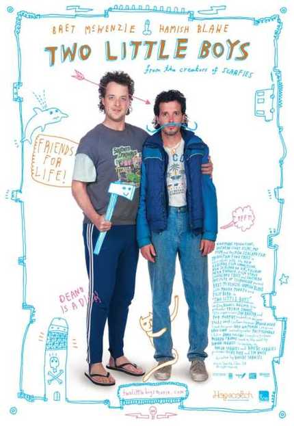 Horrible Title, Funny Trailer. FLIGHT OF THE CONCHORDS' Bret McKenzie Stars In TWO LITTLE BOYS.