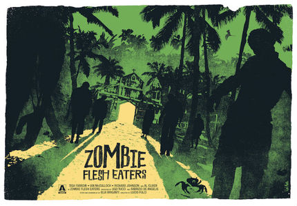 FrightFest Launches Limited Edition Screen Print Collection with ZOMBIE FLESH EATERS and More