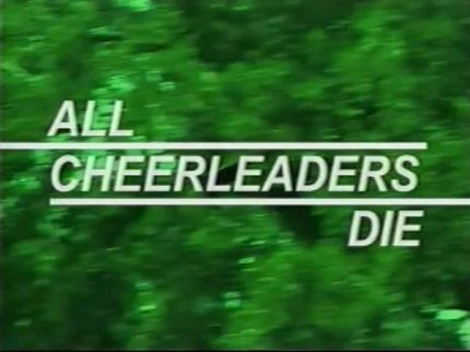 Lucky McKee and Chris Sivertson Declare that ALL CHEERLEADERS DIE