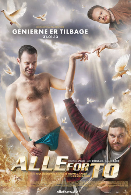 Danish Crime Goes Slapstick In Action Comedy ALLE FOR TO