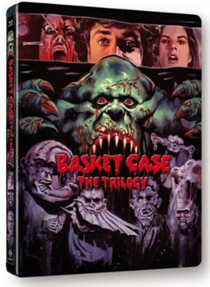 Blu-ray Review: BASKET CASE: THE TRILOGY Is The Only Way To Go! (Second Sight Films)