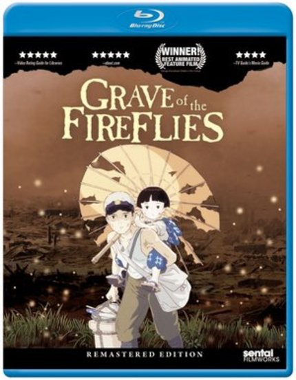 Blu-ray Review: GRAVE OF THE FIREFLIES (Sentai Filmworks) Transcends Its Methods, Becomes Its Own History