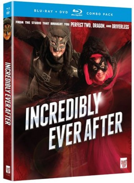 Blu-ray Review: INCREDIBLY EVER AFTER aka MR & MRS INCREDIBLE (FUNimation)