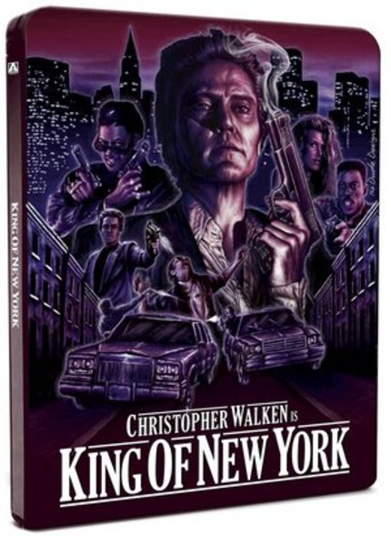 Blu-ray Review: KING OF NEW YORK (Arrow Video Steelbook)