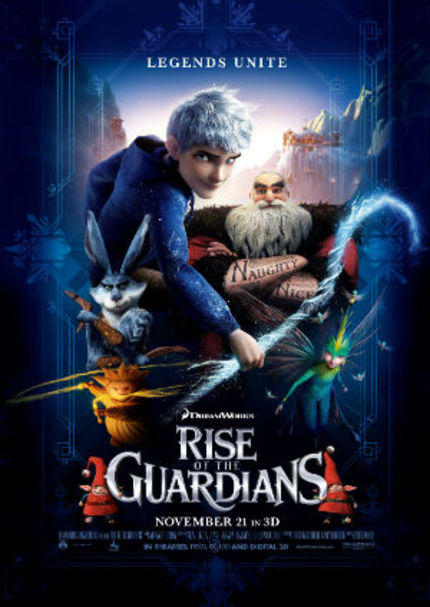 Review: RISE OF THE GUARDIANS Tries to Make Jack Frost a Thing