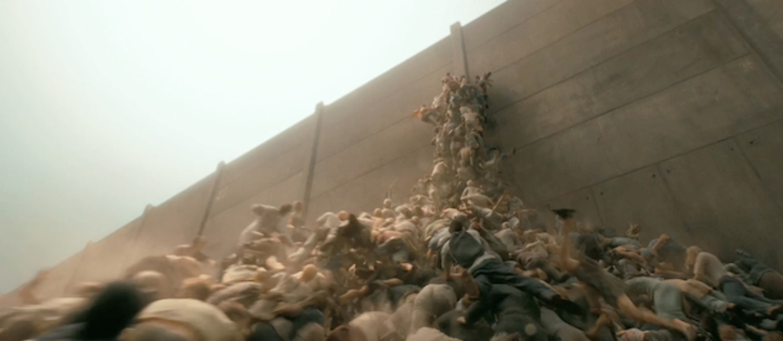 That's A Big Tower O' Zombies! Here's The Trailer For WORLD WAR Z