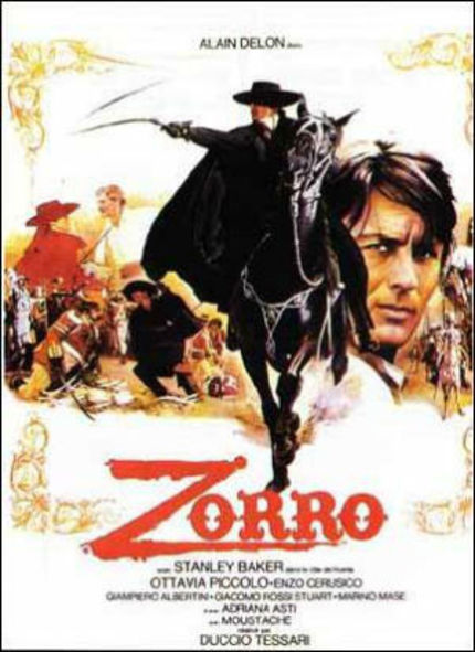 Blu-ray Review: Alain Delon Makes ZORRO Crackle and Pop