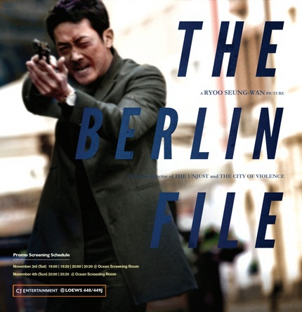 First Teaser and Stills for Korean Spy Thriller THE BERLIN FILE