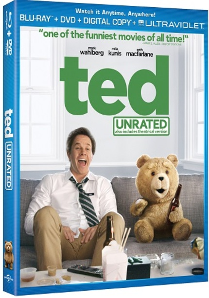 Blu-ray Giveaway: Who Wants A Copy Of Seth MacFarlane's TED?