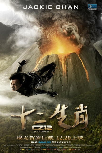 Jackie Chan Glides Over A Volcano In Latest CHINESE ZODIAC Poster