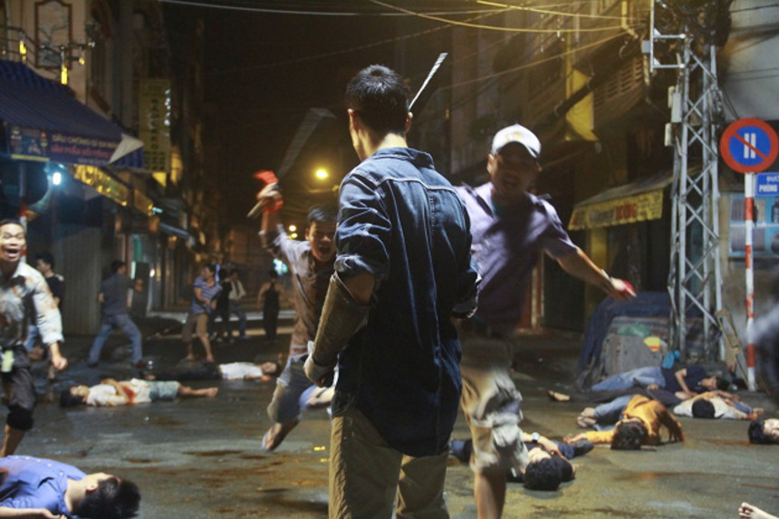 First Images From Vietnamese Action CHO LON Promise Massive Scale Gang Violence