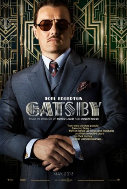 Joel East-Egg-erton Gets A GREAT GATSBY Character Poster