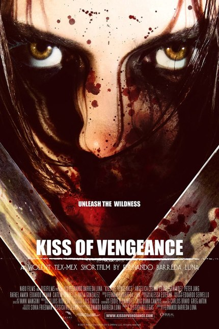 Watch The First Trailer For Mexicali Action KISS OF VENGEANCE