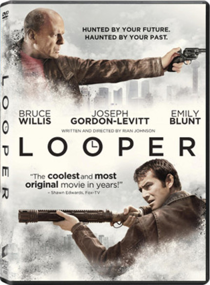 Win A LOOPER Blu-ray And Custom Pocket Watch