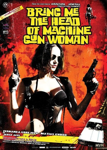 By The Time You Say It, She's Shot Yours Off. First BRING ME THE HEAD OF THE MACHINE GUN WOMAN Trailer!
